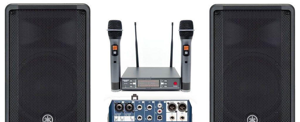 Alquiler de equipos de sonido en Córdoba
